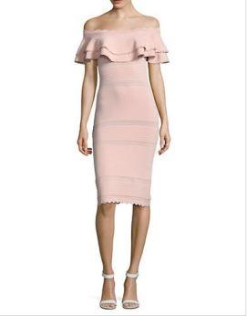 http://www.thebay.com/webapp/wcs/stores/servlet/en/thebay/brands/dresses/ruffled-off-shoulder-sheath-dress-0600089116683--24